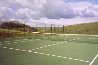 Woodhouse tennis court