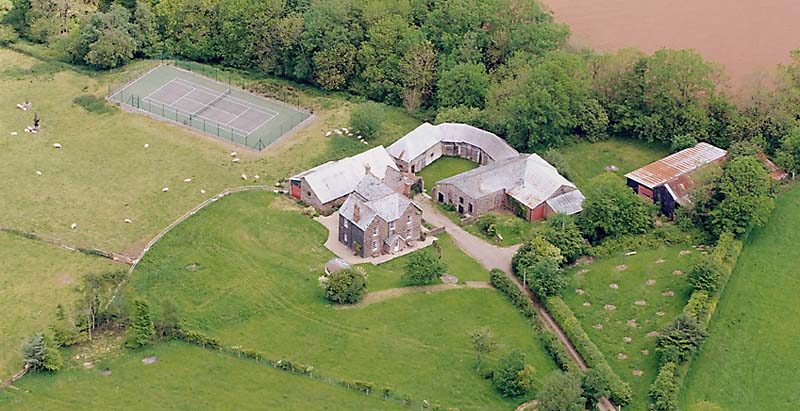 Woodhouse aerial view